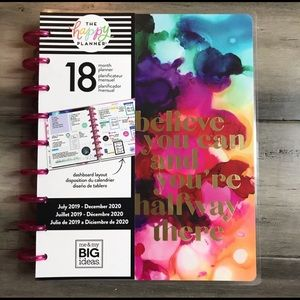 The Happy Planner Paint Splash Planner - Classic